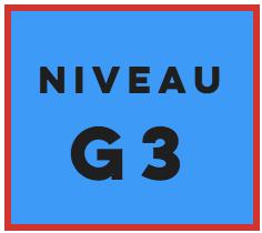 Gradé niveau 3